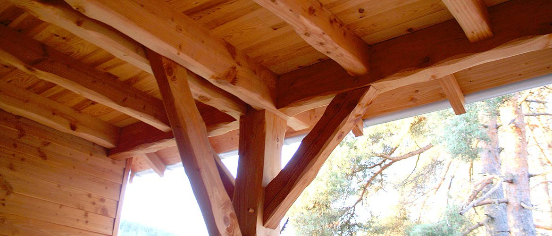 Charpente Antoine Aine lozère ossature bois charpente Agencement