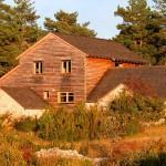 Ossature bois et ancienne bergerie calcaire, Causse Méjean 01