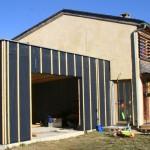 Ossature bois, garage, Causse de Sauveterre