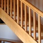 Escalier en frêne, Hyelzas 01
