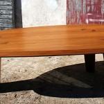 Table en mélèze, Fretma, Causse Méjean, 01