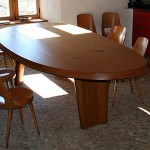 Table en mélèze, Fretma, Causse Méjean, 03
