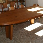 Table en mélèze, Fretma, Causse Méjean, 04